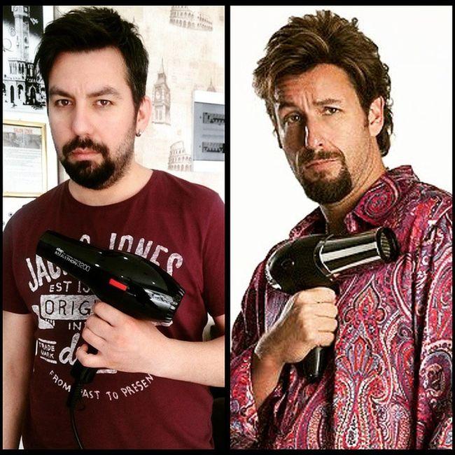 Zohan Tafo AdamSandler Tayfungezgin hairdresser hairsalon barber coiffeur YouDontMesswiththeZohan :)