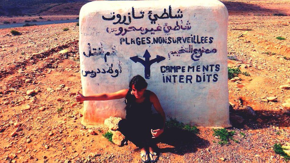 Desert Marocco Autostop