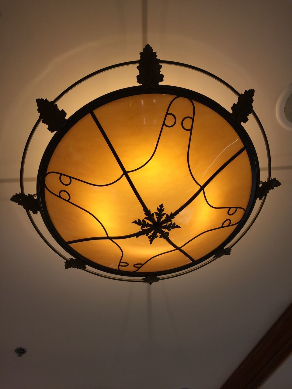 lighting equipment, low angle view, no people, illuminated, sport, light bulb, indoors, hanging, close-up, basketball hoop, day