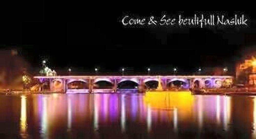 KUMBHMELANASHIK Godavari_river Kubhamela Peace And Love Creative Light And Shadow Bridge View