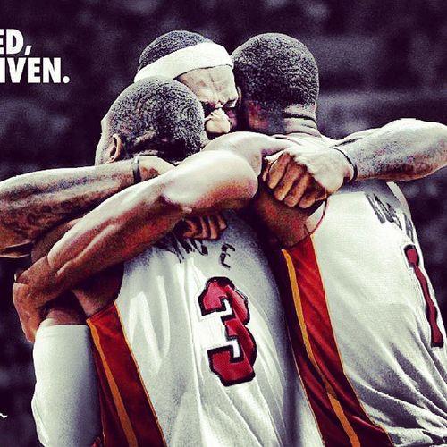 Miami HeatWade Bhos Lebro JamesWinner Nba2013jamMaiami Heat vs Sant'Antonio Spurs final jam the winner is Heat