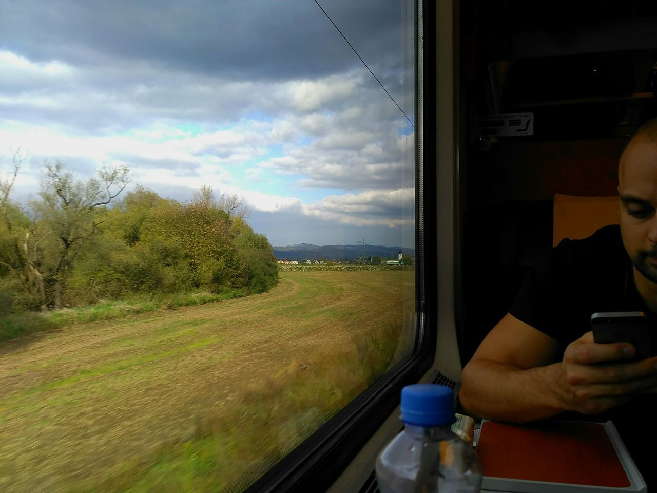 By Train  My Man Clouds