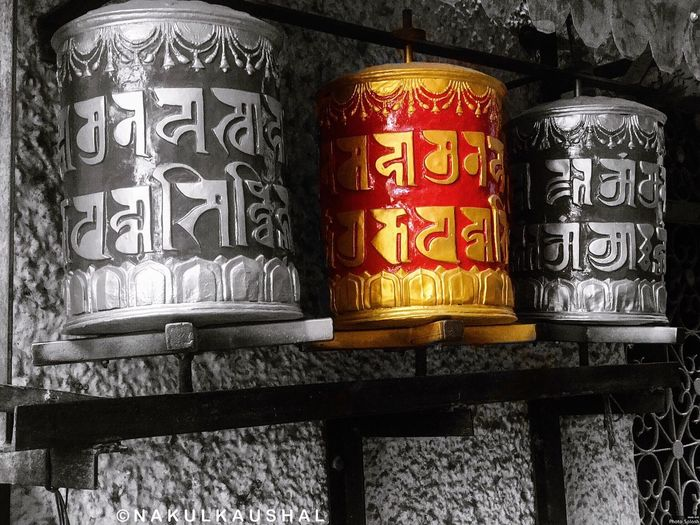 Prayer Wheel with some colour splash 🙏 Buddhism Prayer Coloursplash EyeEmBestPics EyeEmNewHere Buddha Buddhist Temple India Indiapictures Bnw Bnw_collection EyeEm Best Shots India_clicks EyeEm Best Edits Beautiful Close-up IPhoneography EyeEm Best Shots - Black + White EyeEm Selects Bestoftheday View Photooftheday Macro Colors Photographing