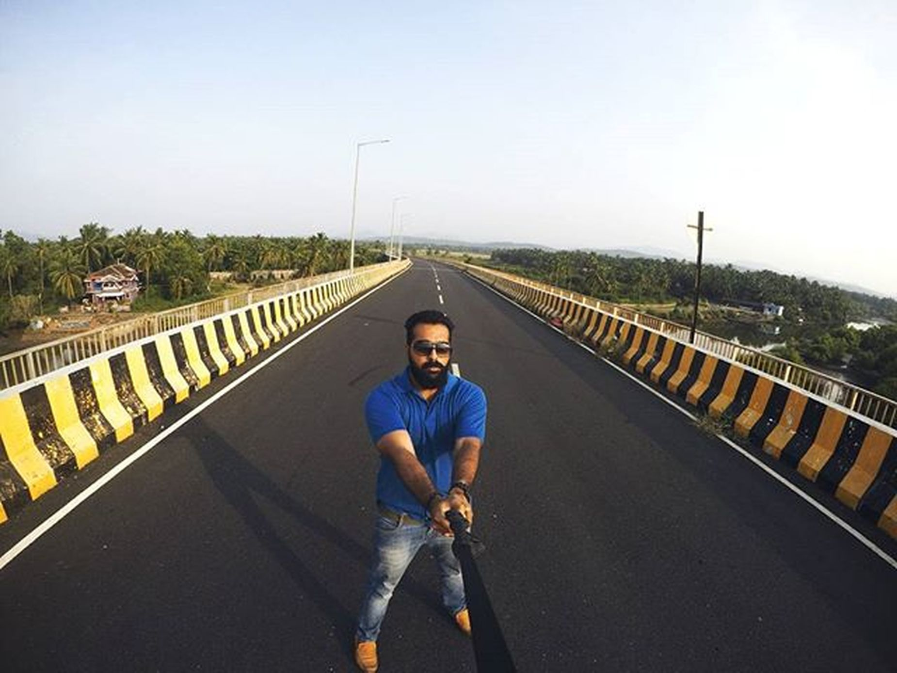 🌉This bridge🌉 Bridge Architecture Beauty Picmygoapic Emptybridge Goanlife Awesome Riverside Goan Ilovegoa Goanboy Traveling Roadtripping Gopro Goprooftheday Lobster Ahd Goa Mytravelgram