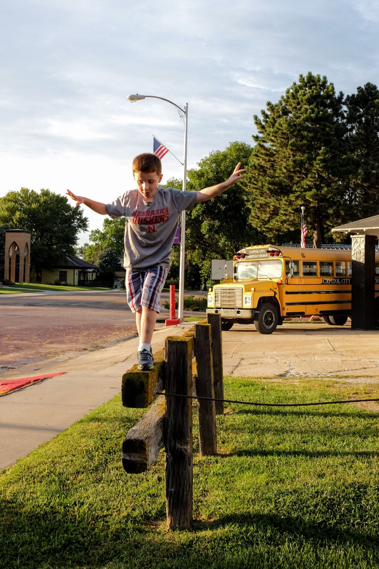 Photo essay, a day in the life. August 24, 2016 Milligan Nebraska 35mm Camera A Day In The Life Americans Balance Balancing Act Camera Work Carefree Childhood Composition Elementary Age Evening Light Everyday Lives Eye For Photography EyeEm Best Shots EyeEm Gallery Eyeemphoto Fine Art Photography FujiX100S Full Length Gesture Golden Hour Outdoors Photo Essay Small Town Stories Storytelling