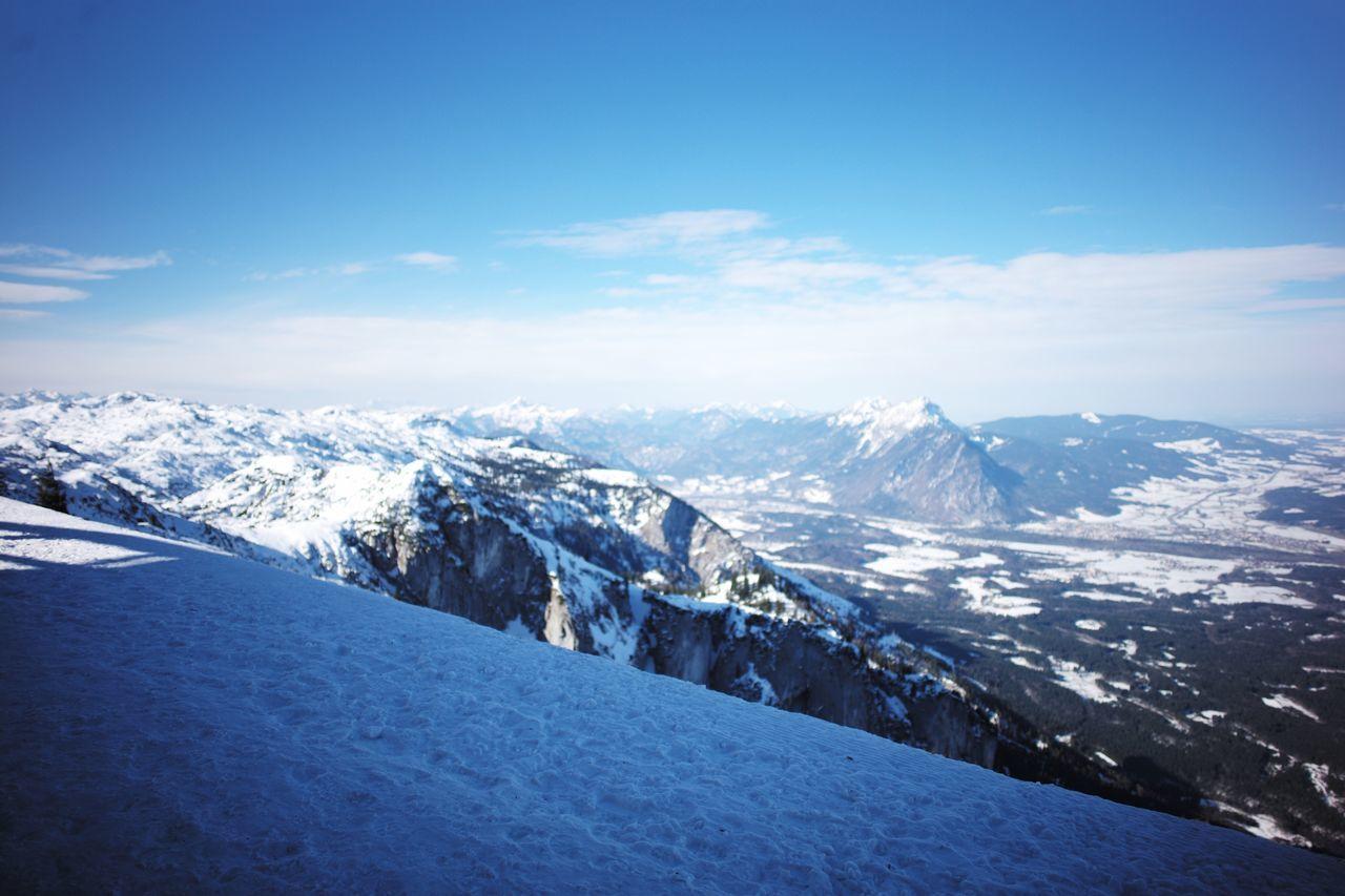One fine morning..☀️🗻💕 Perfectview AmazingpanoramicWintertime Eurotrip Europe Snow White Mountain First Eyeem Photo