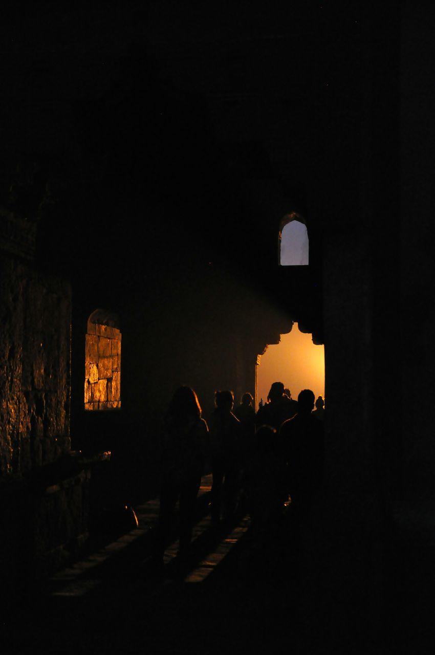 Tourist In Tomb At Lodi Gardens