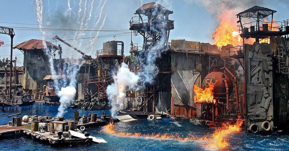 Universal Studios  Los Angeles, California Hollywood Movieset Spectacular Universalstudios Spectecular