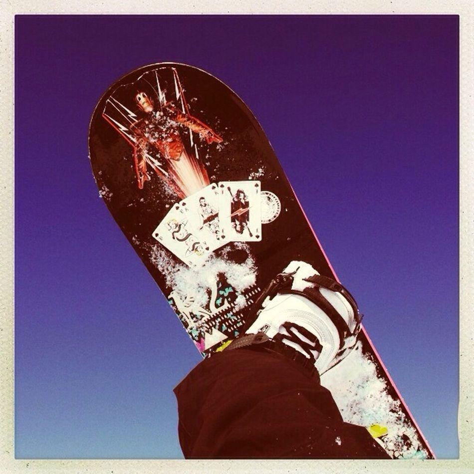 Snowboarding Rocketeer
