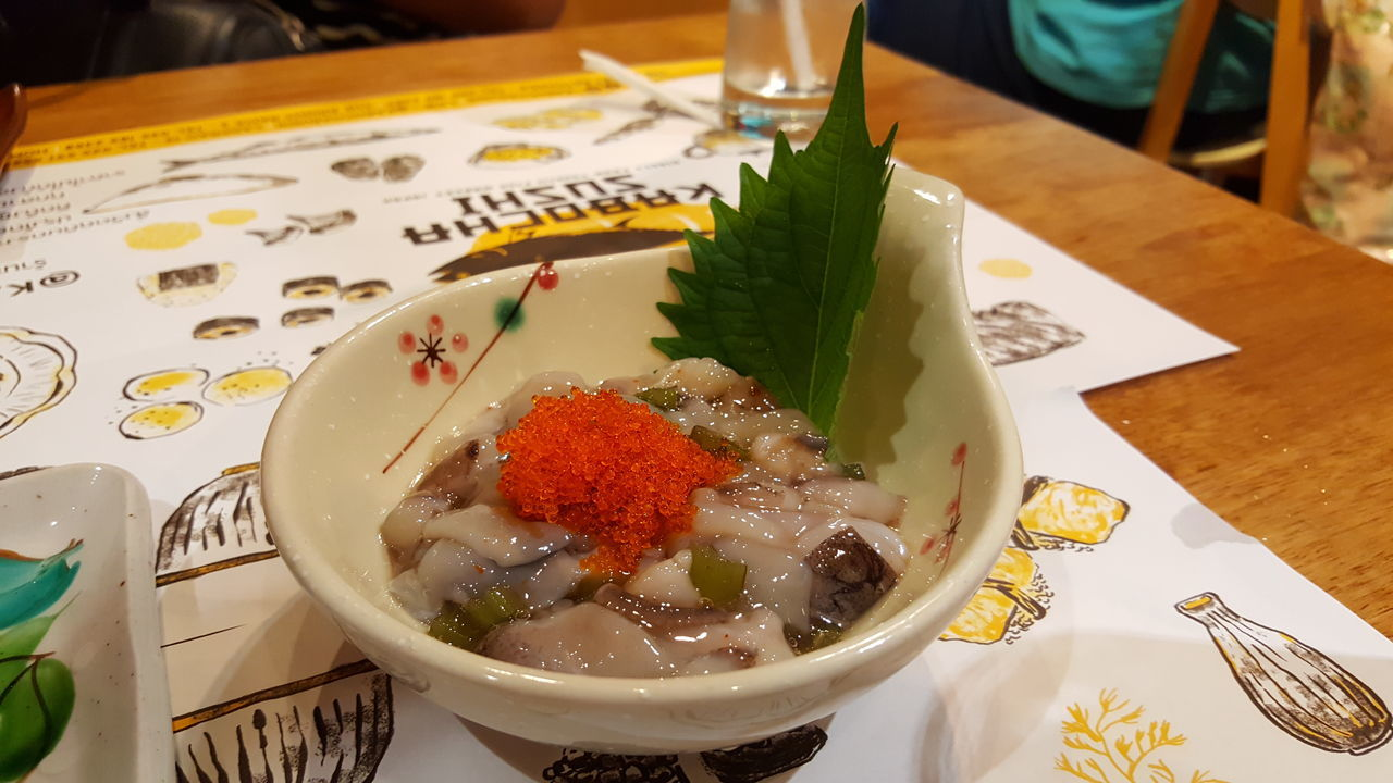 Food Freshness Close-up Tamago Plate Japanese Food Takowasabi Foodporn Food Porn