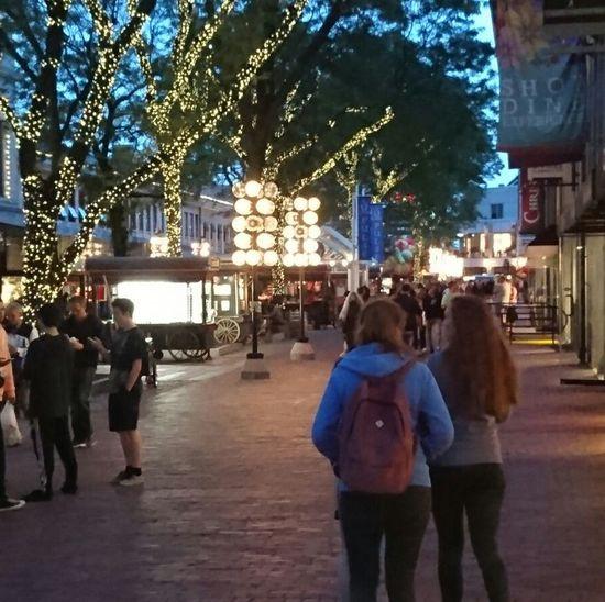 Live For The Story Boston, Massachusetts Illuminated Night Sister Market