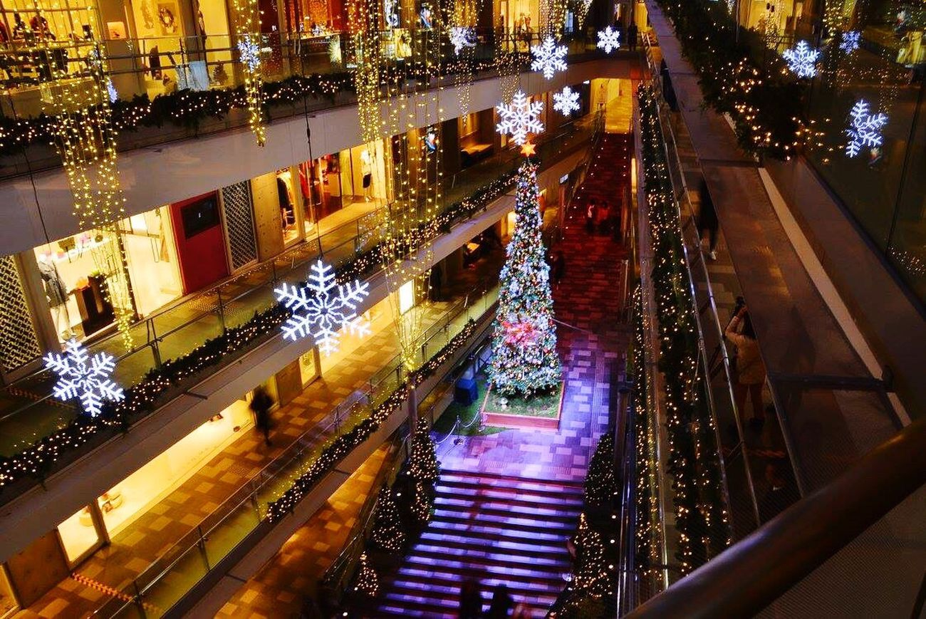 Best Christmas Lights Winter AlmostChristmas Nightphotography Hanging Out 2015  Christmas Decorations Streamzoofamily Omotesando