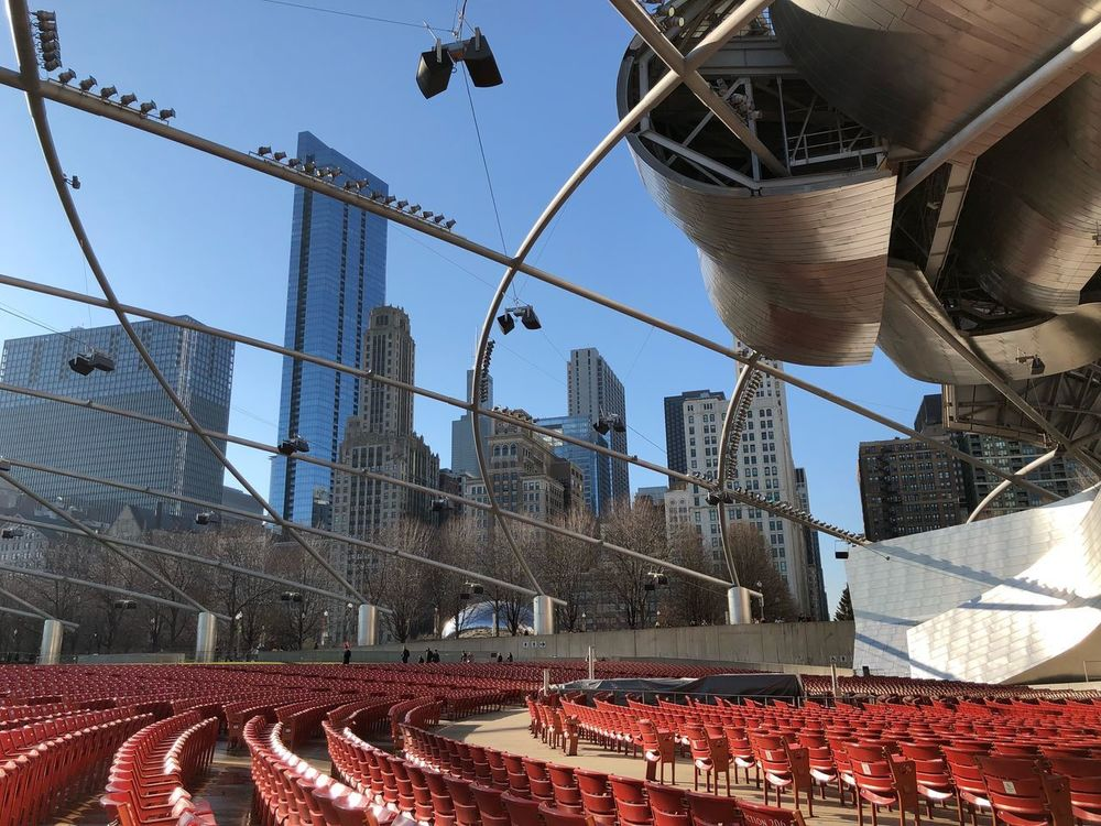 Jay Pritzker Pavilion Jaypritzkerpavilion Architecture Built Structure Day Building Exterior Outdoors No People City
