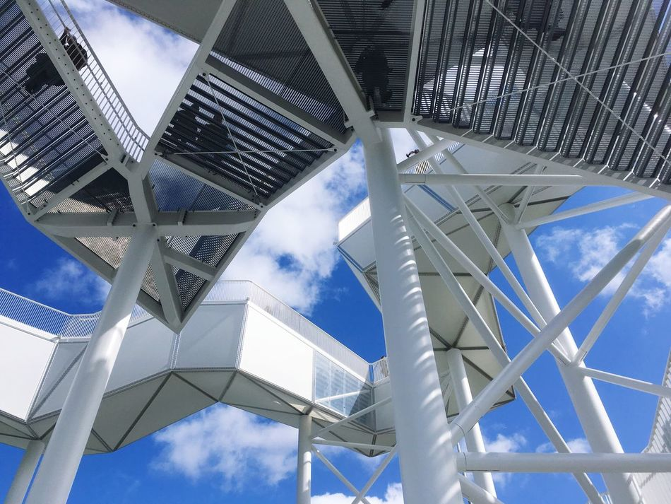 Architecture Sky Steel Modern Futuristic Technology Built Structure Low Angle View