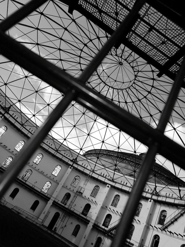 Built Structure Architecture Sky Panometer Leipzig