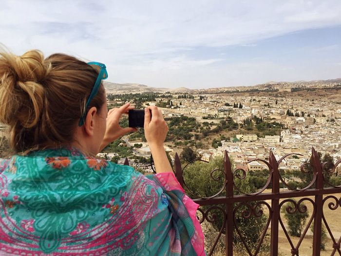 Maroc Marocco Marokko Holiday Tourism Tourist Making Pictures Making Memories Capturing The Moment View City Fez Beautiful Medina Enjoying Life That's Me Sunshine Cityscapes City View  Be Yourself Be Happy Enjoying The View People Cultures Culture