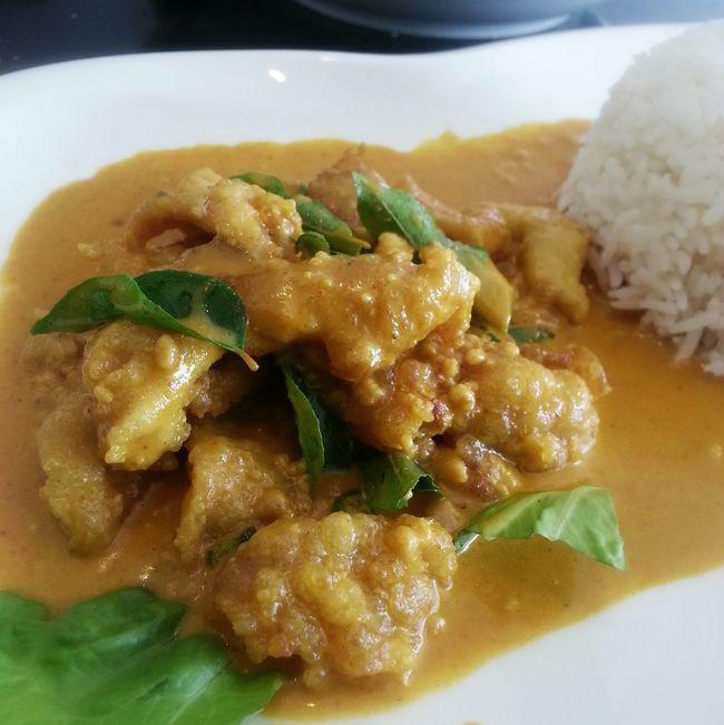 Curry Buttermilk chicken. Brunei Rovansil Lunch