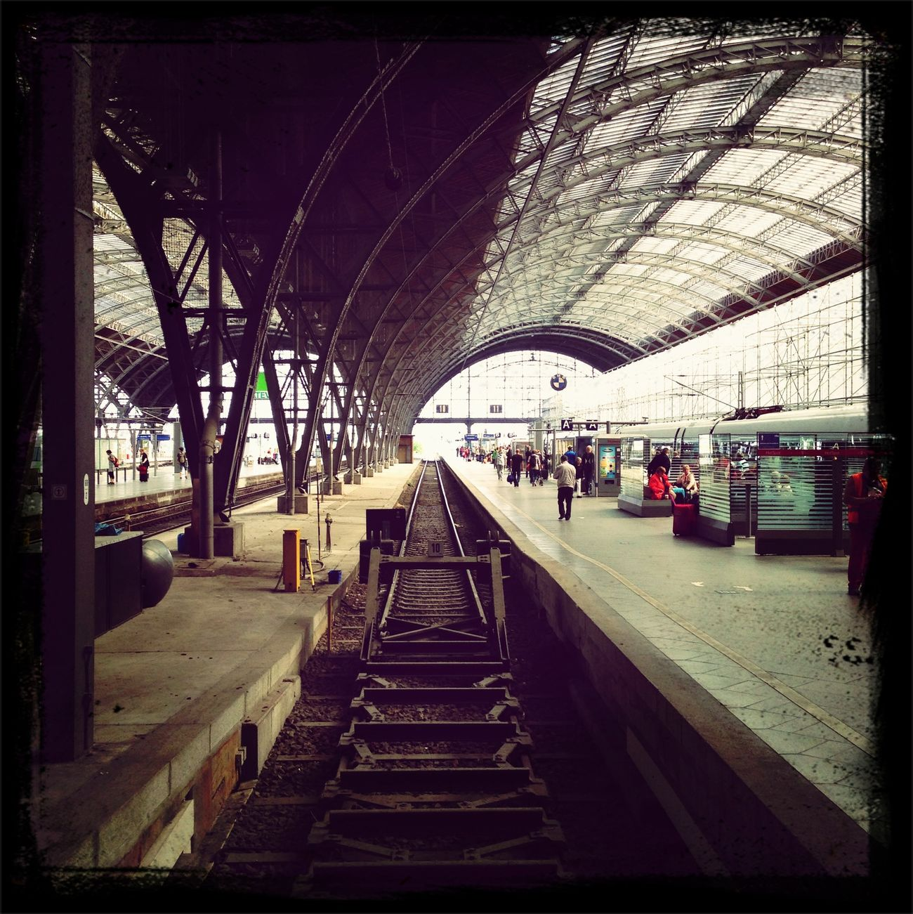 Leipziger Hauptbahnhof Bahnhof Bahnhof Leipzig