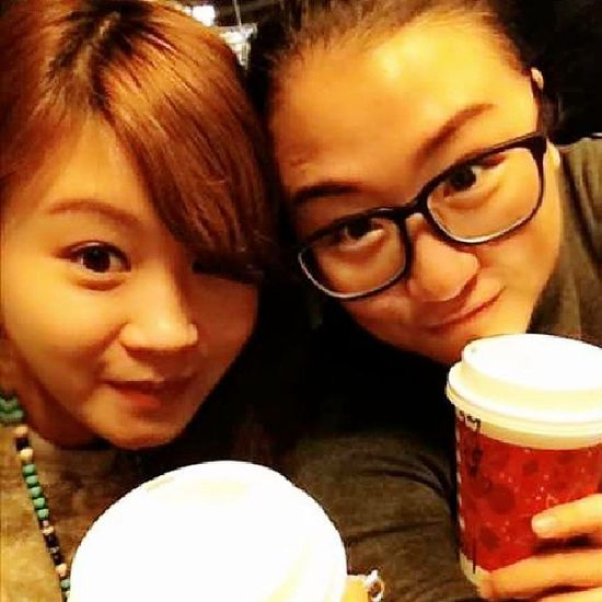 After shopping's coffee break!!