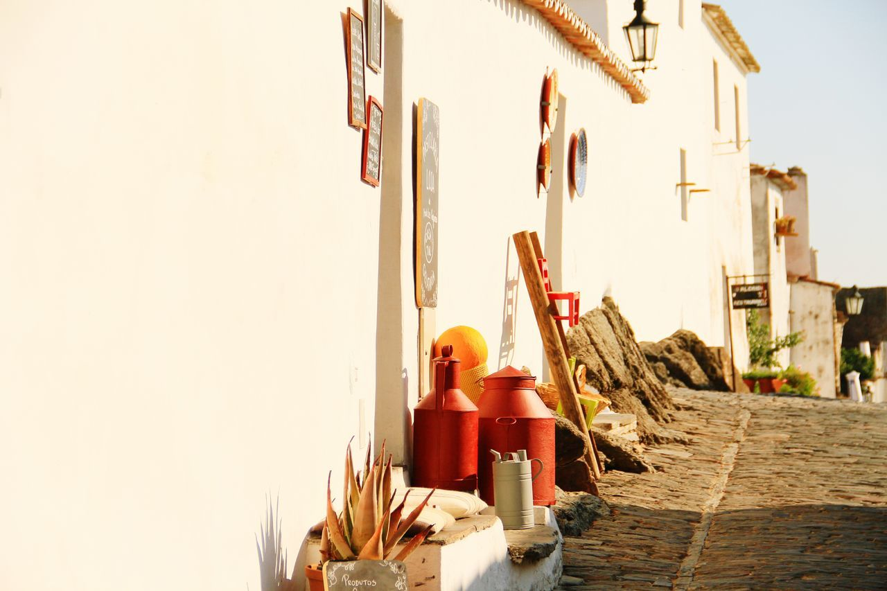 Reguengos de Monsaraz No People Day Outdoors Architecture Sky Reguengosdemonsaraz Portugal Travel Photography Travelphotography Sony A6000 Wall White Wall EyeEmNewHere