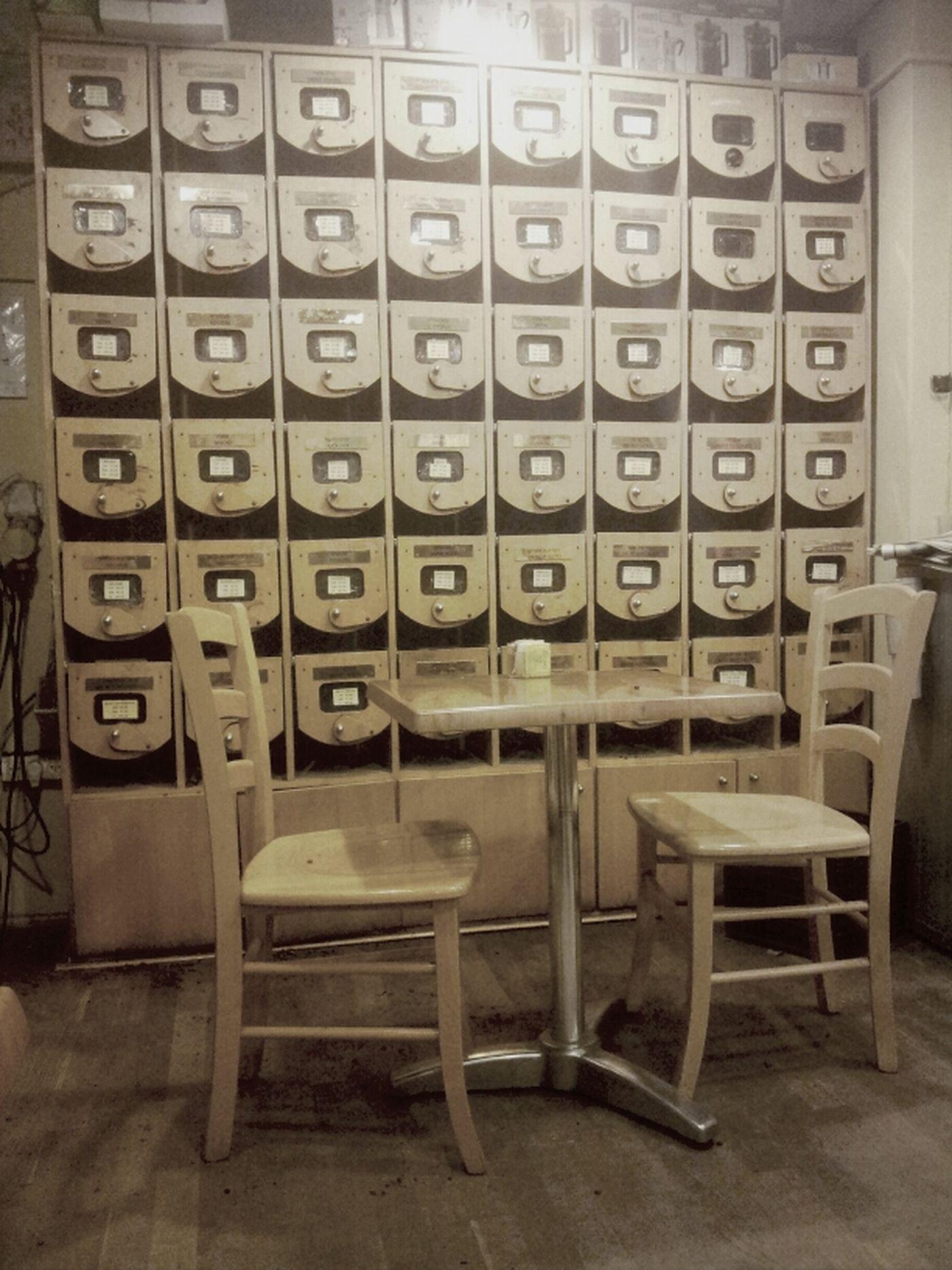 טחנת הקפה.