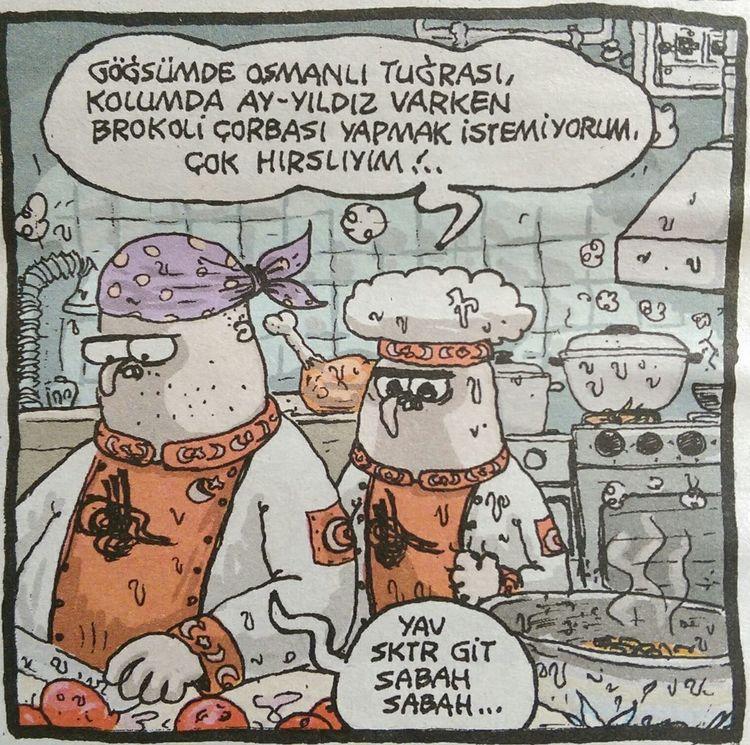 Karikatur Komik Mizah Istanbul