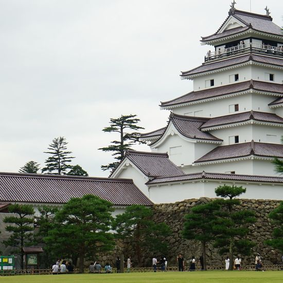 Architecture Building Exterior Castle Japanese Castle Japan Scenery Japanese Photography Japan Finding New Frontiers Japanese Architecture Japanese Culture Japanese Traditional Japan Photography Japan Photos Built Structure Sky Day Outdoors No People Tree