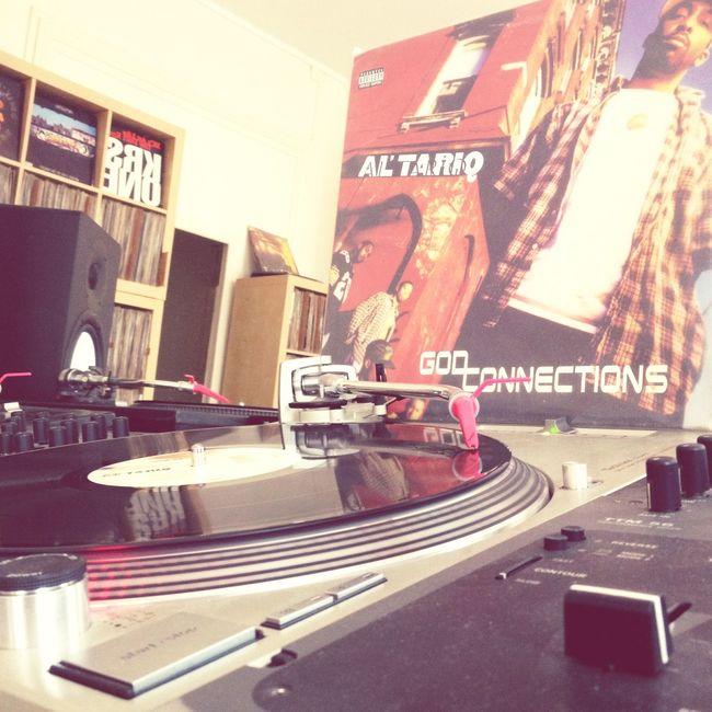 "Listening pleasure, Al' Tariq ""God Connections"" Digging For Wax Records HipHop Boom Bap Music DigginInTheCrates Rap Vinyls Underground Hip Hop"