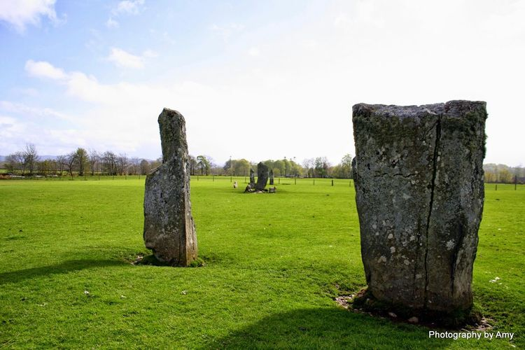 Scotland Standing Stones Ancient Culture Stones Scottish Countryside Western Scotland Kilmartin Scotland
