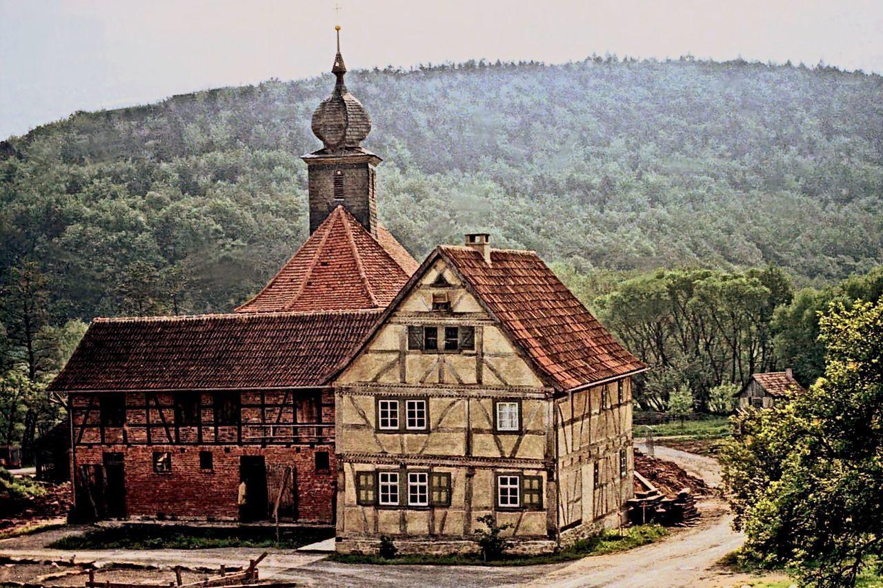 Landleben Bauernhof Fladungen Museum Villige Relaxing Bauernhaus Spring