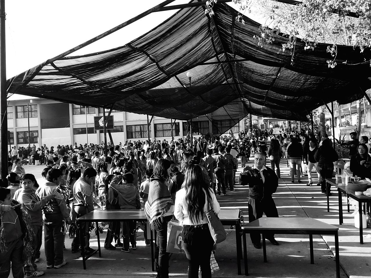 Enjoy The New Normal Large Group Of People Real People EyeEm Best Shots - Black + White