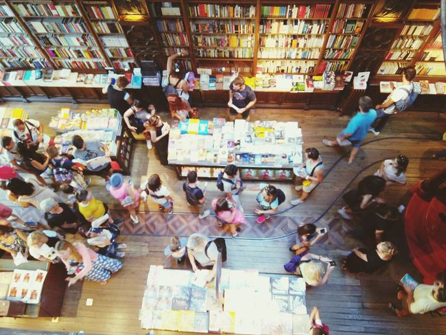 A Bird's Eye View Library Lello Porto Books Historic Church The Shop Around The Corner