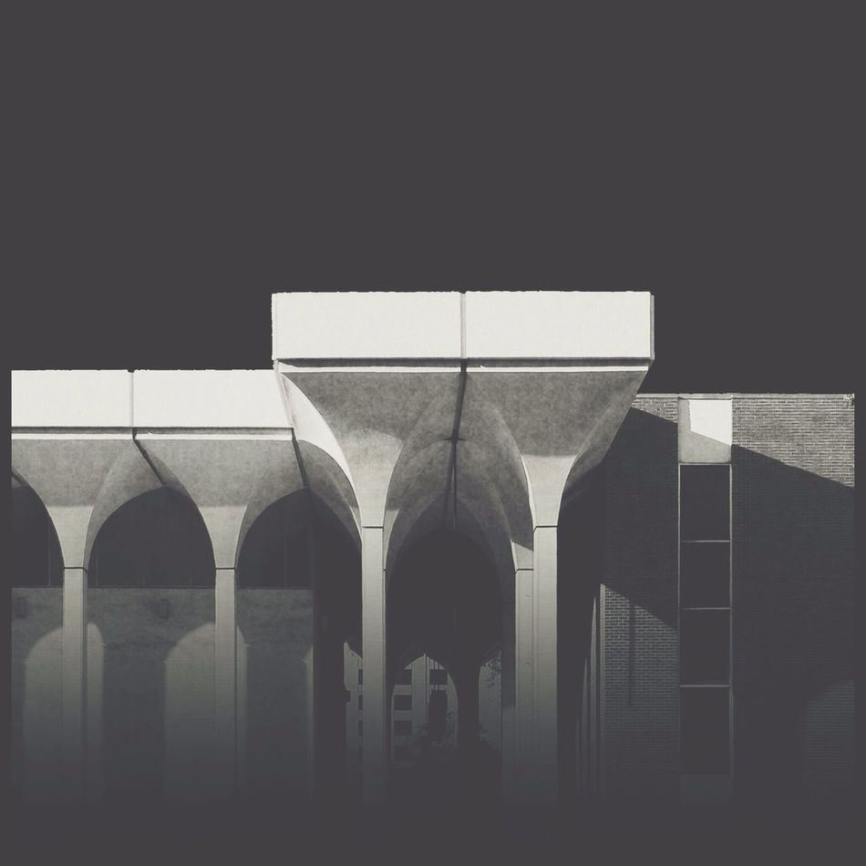 Architecture Blackandwhite Monochrome Architectural Detail