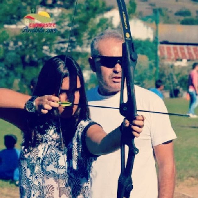 Adoro isto Tiro AO Arco Sport archery girl hard love it watch black white