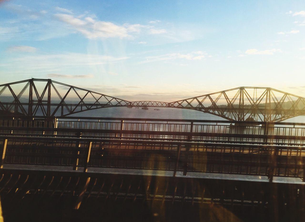 Bridges Seeing Through Window