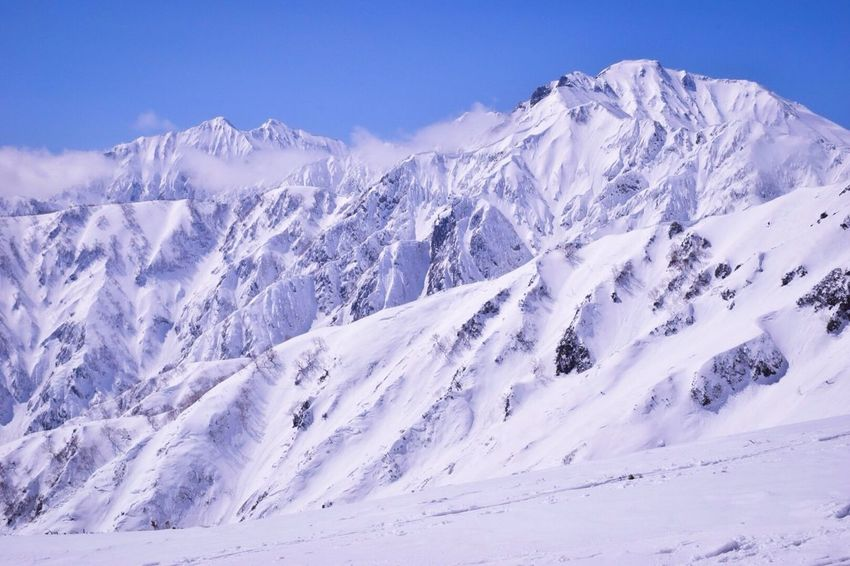 Snow Winter Tourism Mountain Range Nature No People Outdoors Sky Day