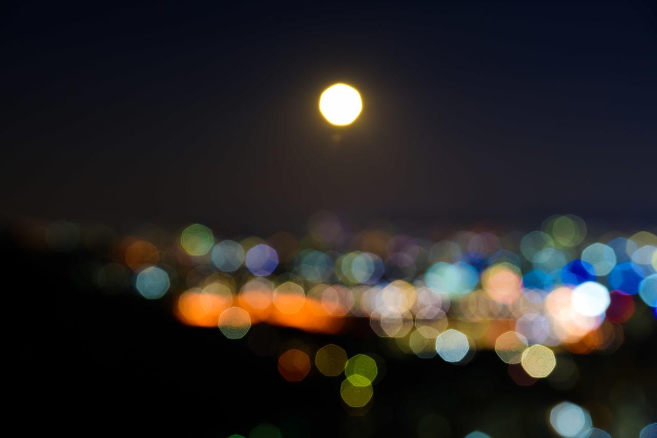 EyeEm Nightscape EyeEm Night Shots EyeEmBestPics Namsan City Night Nikon D750 Seoul Mountain EyeEm Best Shots Eyeemphotography Seoul, Korea Nikonphotography Full Moon Full Moon 🌕 Dramatic Sky Defocused Multi Colored Abstract Light Effect Outdoors Nightlife Cloud - Sky Urban Skyline full moon and the city