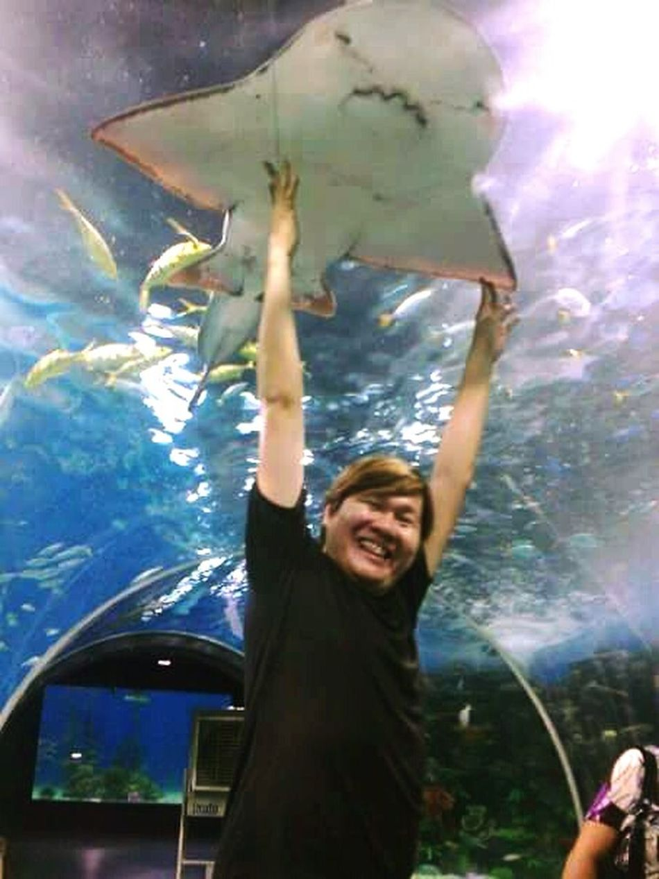 Check This Out That's Me Enjoying Life Manila Ocean Park, Philippines