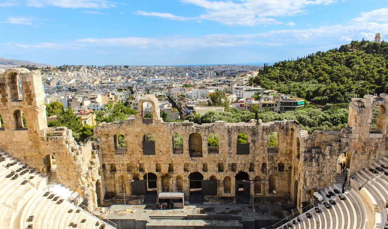 Beautiful stock photos of athens, Acropolis Of Athens, Amphitheater, Ancient, Ancient Civilization