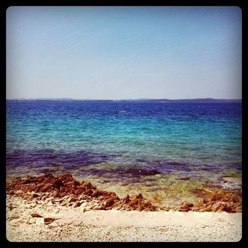 Beach Blue Croatia Petrcane