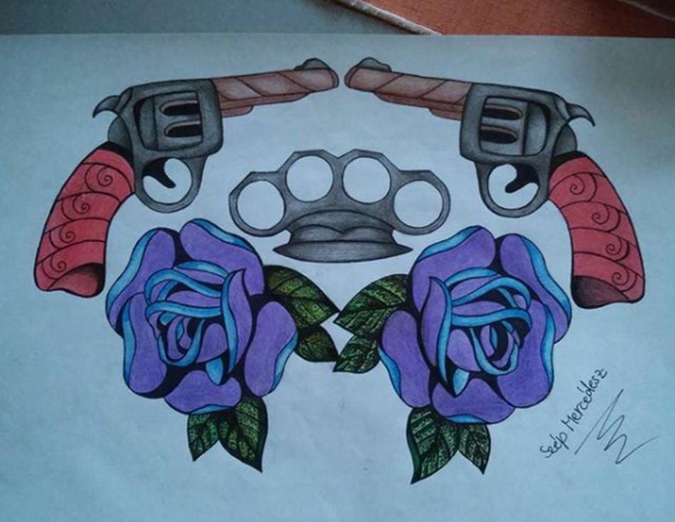 Check This Out Taking Photos Hello World Tattooidea Tattoodesign Rose🌹 Design Likeforlike Follow4follow Arts Art ArtWork Art, Drawing, Creativity Creative Draw Drawing Drawings Drawingtime Picoftheday Weapon Tattoo Flowers Creative World Mydraw