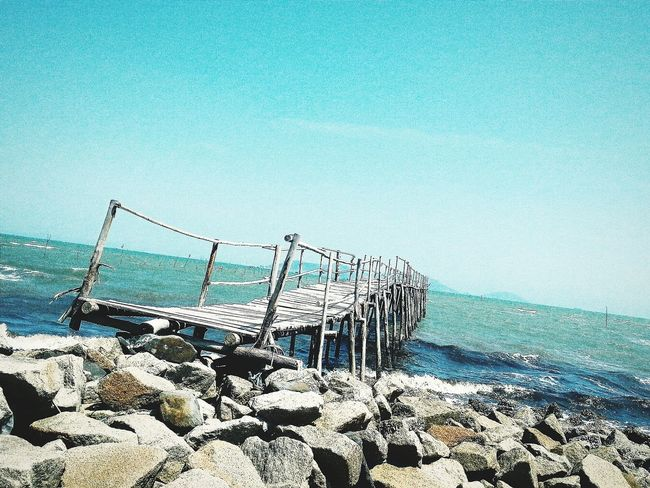 Remember me, Remember him Bridge View Cangio Beachphotography Rocks And Water Clouds And Sky Deepbluesky Cloudy Skies Eyetravel