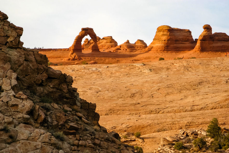 Arches National Park, Utah Beauty In Nature Eroded Non-urban Scene Old West  Eroded Rocks Arches National Park Arid Landscape Arid Rocky Landscape Physical Geography Rock - Object Scenic Landscapes Rocky Mountains Rock Formation Sandstone The Old West Tourism Tranquil Scene Wind Erosion