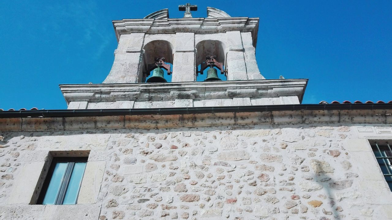 Church Hermita Hermita De Santa Ana Religious Architecture Religious Buildings Cruz Campanas Bells Sky