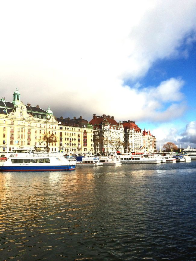 Stockholm, Sweden City Town Buildings And Sky Buildings,style,arquitecture,sky EyeEm Gallery