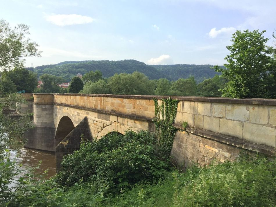 Bridge at Creuzburg Travelling Travel Photography Deutschland Enjoying Life Germany City Life Old Buildings Old Town Great Outdoors