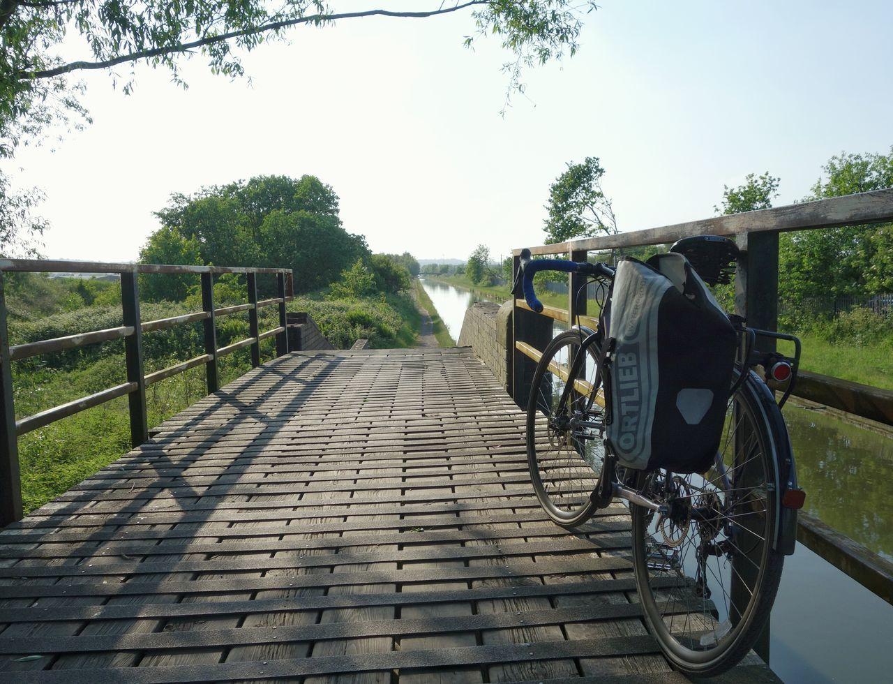 Bicycle Bridge Canal Bicicleta Bici West Midlands