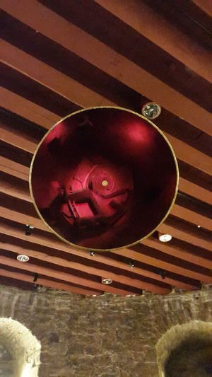 Art Borgholm Borgholms Slottsruin Borgholmslott Castle Castle Ruin Mirror Model Red Red Mirror Reflection Reflection Of A Model Stonewall Surrealist Art Sweden What's That? Within Wooden Ceiling