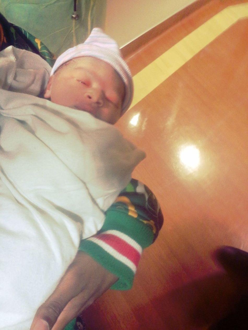 Alli Al 4/11/13!! Welcome Neice