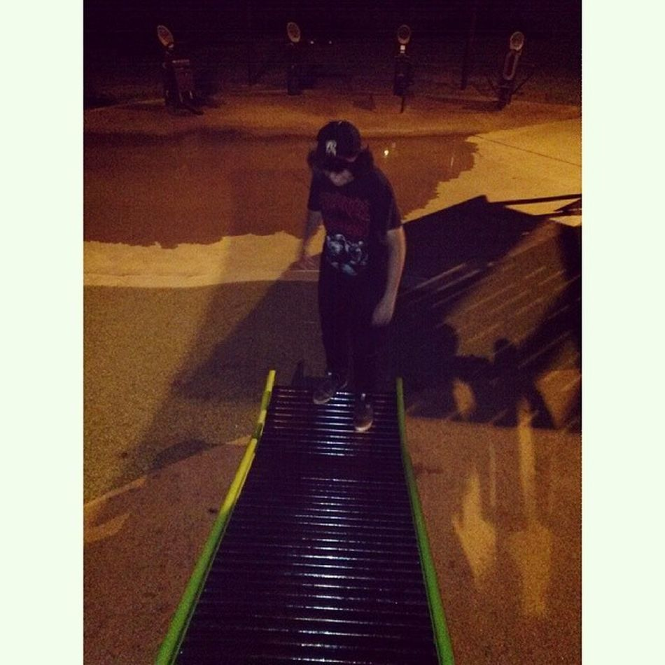 After the gig got raided we kicked back at Evergreen. @erikush_420 2F2F Moco Booger T park Evergreen